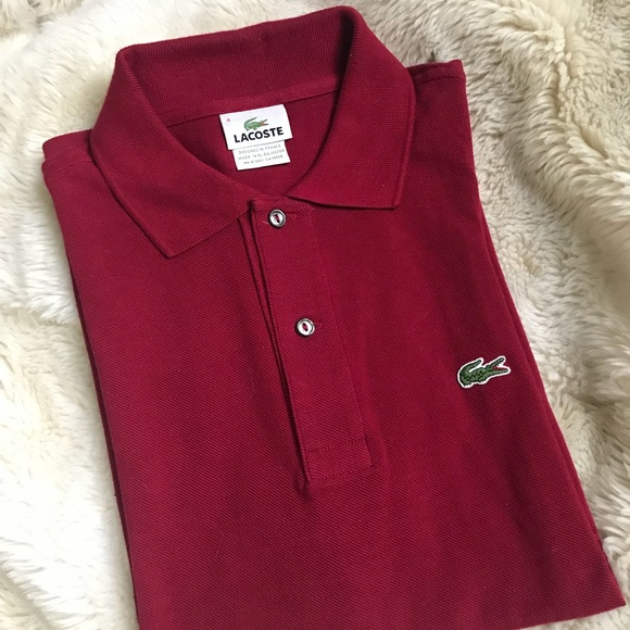 44a98df3e95a Lacoste Other - LACOSTE Mens Short Sleeve Polo Shirt Size 4 Small